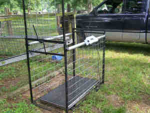Electric fence gate closer